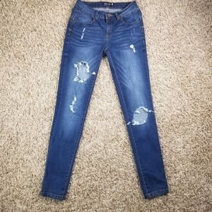 Blue age Jeans  Distressed skinny jeans